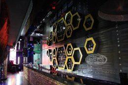 натяжные потолки в диско клубе опера