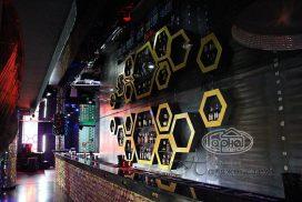 натяжні стелі в диско клубі опера
