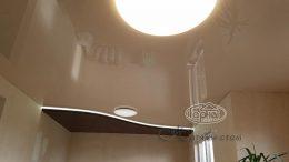 натяжные потолки с нишевой подсветкой