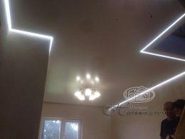 парящий натяжной потолок фото