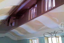 3D криволинейные натяжные потолки
