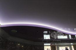 потолки двухуровневые с подсветкой