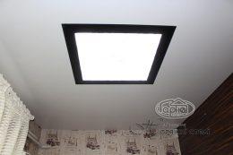 потолок световые квадраты