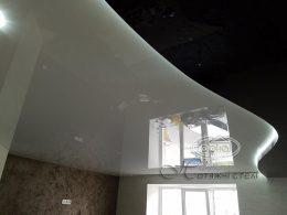 потолок в два уровня подсветка