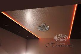 декоративный потолок с подсветкой