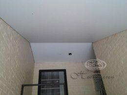 белый матовый натяжной потолок цена
