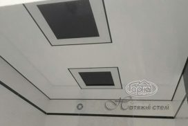 матовая натяжная пленка на потолке