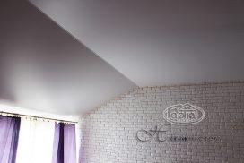 матовые натяжные потолки в доме