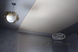 матовые с глянцевыми потолками