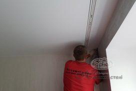 натяжные матовые потолки палитра