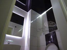 парящий натяжной потолок, светодиод