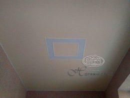 парящие квадраты, подсветка потолка