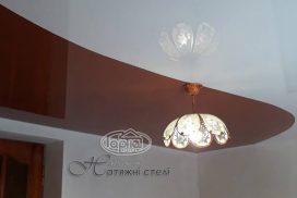 Криволинейная спайка натяжного потолка
