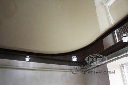 Натяжные потолки двухуровневые монтаж