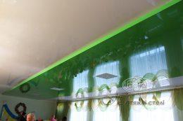 двухуровневый натяжной потолок детский сад