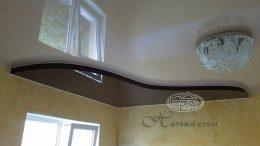 двухуровневый натяжной потолок г. луцк