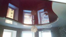 двухуровневый потолок натяжной цвет