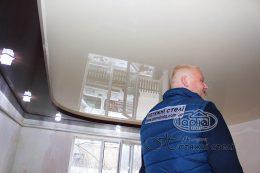 двухуровневые натяжные потолки монтаж