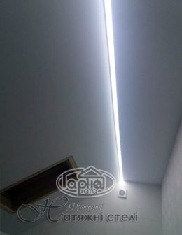 световые линии потолки