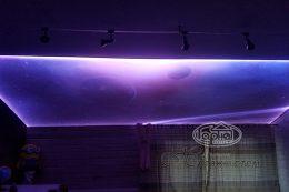 звездное небо натяжной потолок double vision