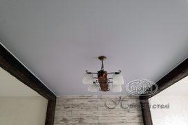 матовый потолок монтаж