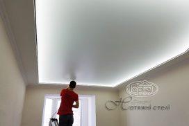 Парящий натяжной потолок в квартиру, Луцк