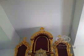 матовые натяжные потолки в церкви