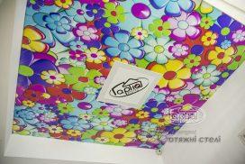 натяжні стелі з фотодруком в дитячу кімнату