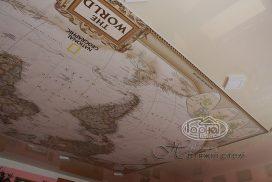 стелі малюнок карта світу