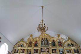 потолки в храме