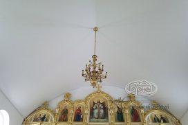 потолки в церкви