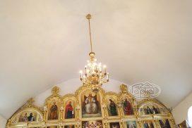 потолок в храме