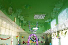 натяжна стеля в дитячому саду