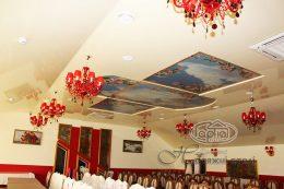 Натяжні стелі для ресторану