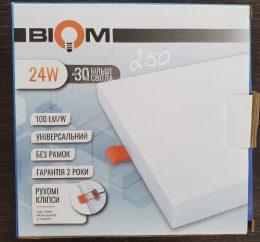 Led Biom 24w Uni S 24w 5